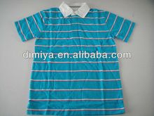 Blue Stripes girls polo t shirt /single jersey made polo t shirt  best buy follow this link http://shopingayo.space