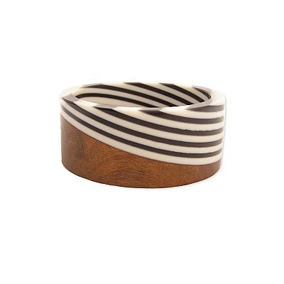 love these wooden+ bangles
