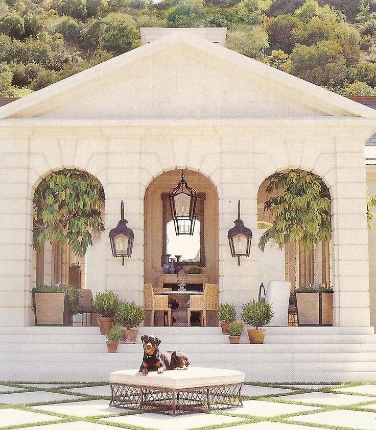 Los Angeles Designers Richard Hallberg And Barbara Wiseley · Outdoor Living  SpacesOutdoor ...