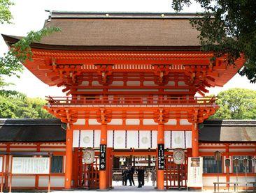 賀茂御祖神社(かもみおやじんじゃ)下鴨神社 Shimogamo Shrine 主祭神玉依姫命 賀茂建角身命
