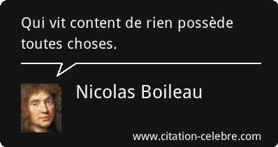 Nicolas Boileau :