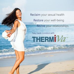Do you have discomfort during intercourse or losing your libido in menopause? ThermiVa can help you get your groove back. Call us today to learn more.