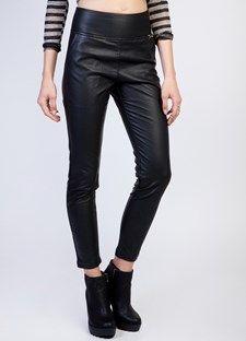 παντελονι leather look