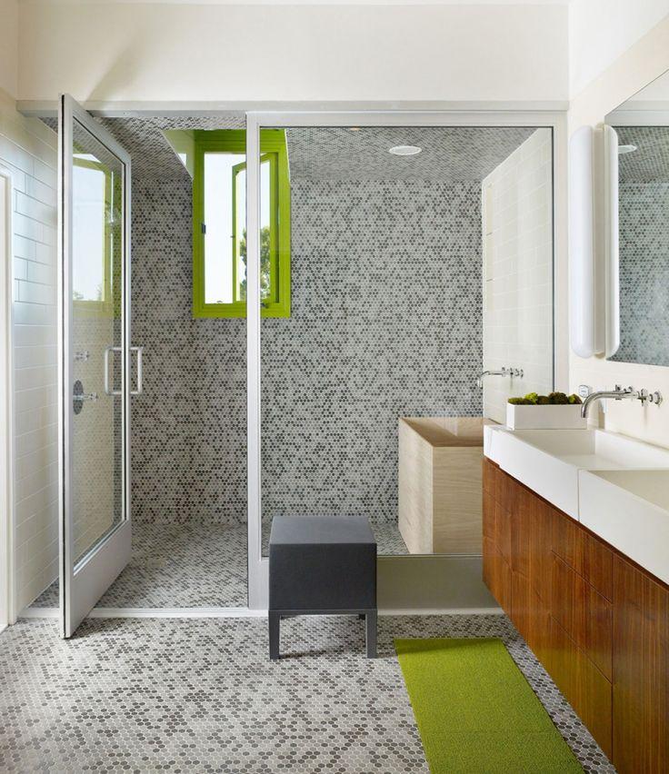 Modern Bathroom Design, Bathroom Floor Tiles