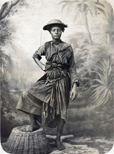 Gaston Fabre - Negresse Charbonniere, ca 1880 | by The Caribbean Photo Archive