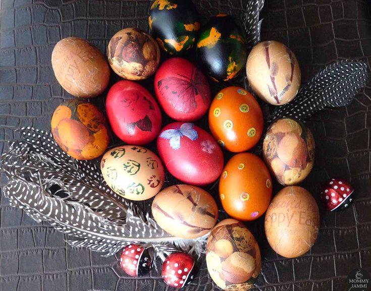 5 εναλλακτικοί τρόποι για να βάψεις τα πασχαλινά αυγά!