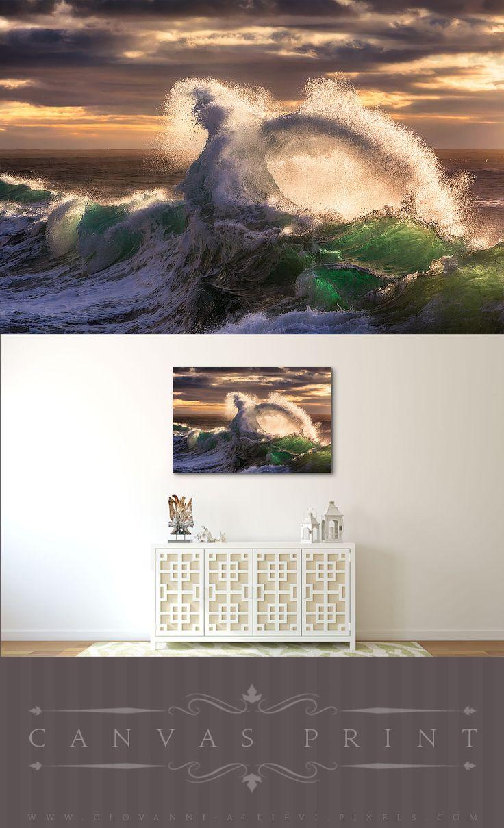 best Wall Decor Tiny world Macro photography Canvas Prints