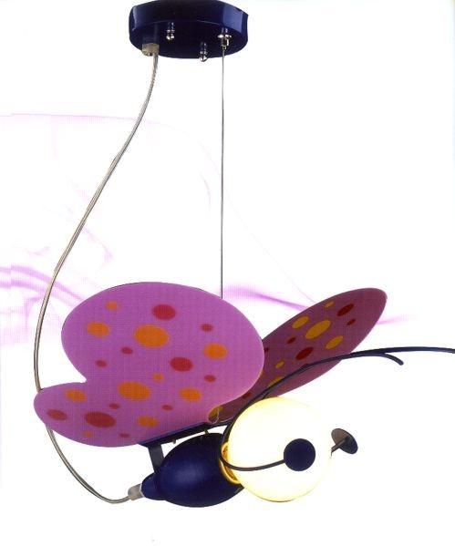 παιδικό φωτιστικό πεταλούδα