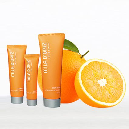 Mila d'Opiz Australia - Skin Vital. Swiss Vitamin Care. Refreshes skin with the energy & vitamins it has lost through damaging environmental impacts. Results in a fresher & glowing complexion.