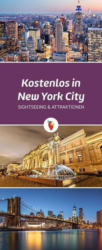 Kostenlos in New York City: Die besten Tipps für gratis Sightseeing & Attraktionen