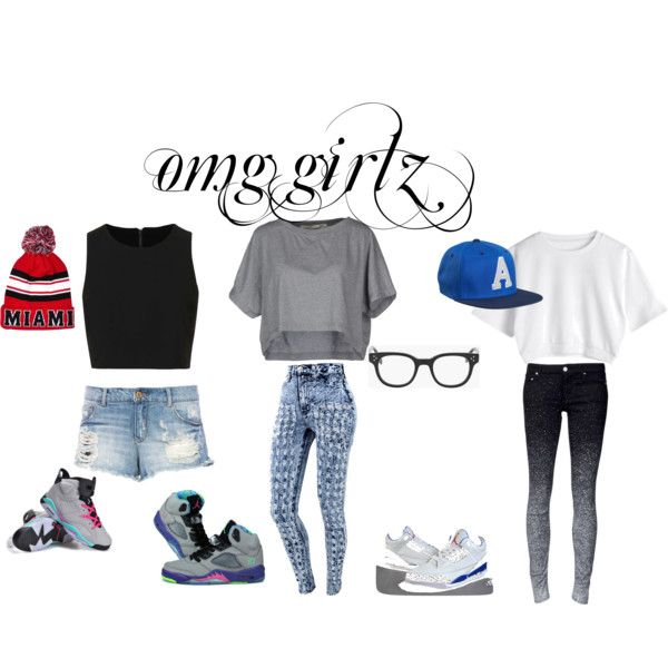 """omg girlz"" by mariahmarie2003 on Polyvore  cheap air jordan 5 only $59.59, save up to 61% off"