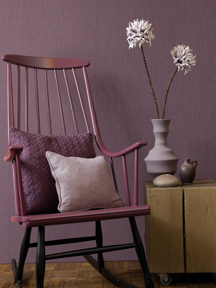 Purple Wallpapers / Paars behang collectie New Naturals - BN Wallcoverings