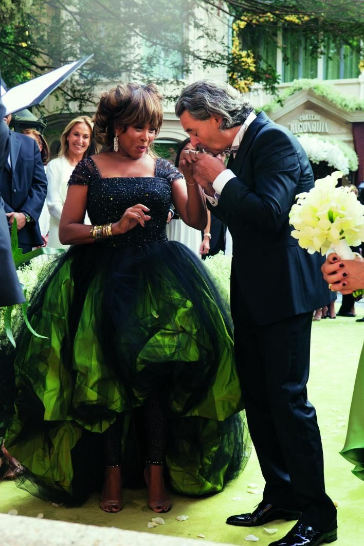 Tina Turner Wedding; love her style; very classy lady.