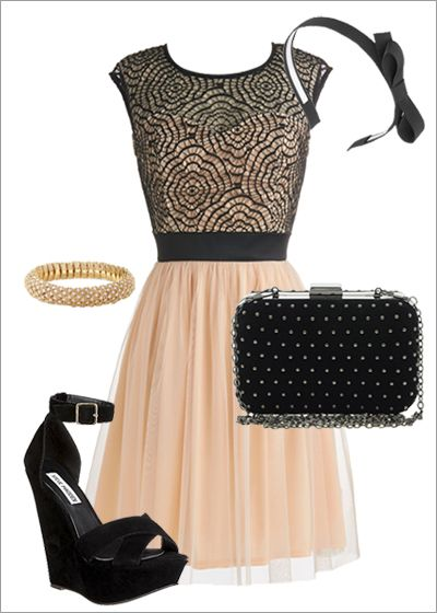 Isn't this a cute outfit to wear to a Wedding?