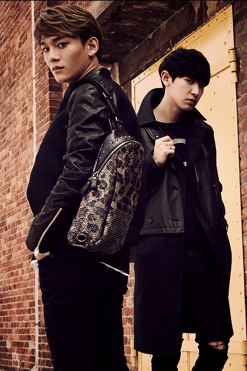 EXO X MCM..... Chen and Chan get it i thought that was good