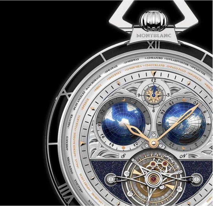 Conheça o exclusivo relógio Montblanc Villeret Tourbillon Cylindrique de Bolso Edição 110 Anos, que celebra o centenário de fundação da marca de luxo alemã. #relógios #relógiosmasculinos #acessóriosmasculinos #luxo #lifestyle #colecionismo #Montblanc