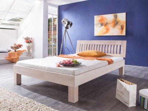 Łóżko z drewna bukowego Cleo 90