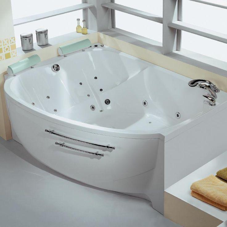 """Двойная #ванна """"Аура"""" с гидромассажной системой"""