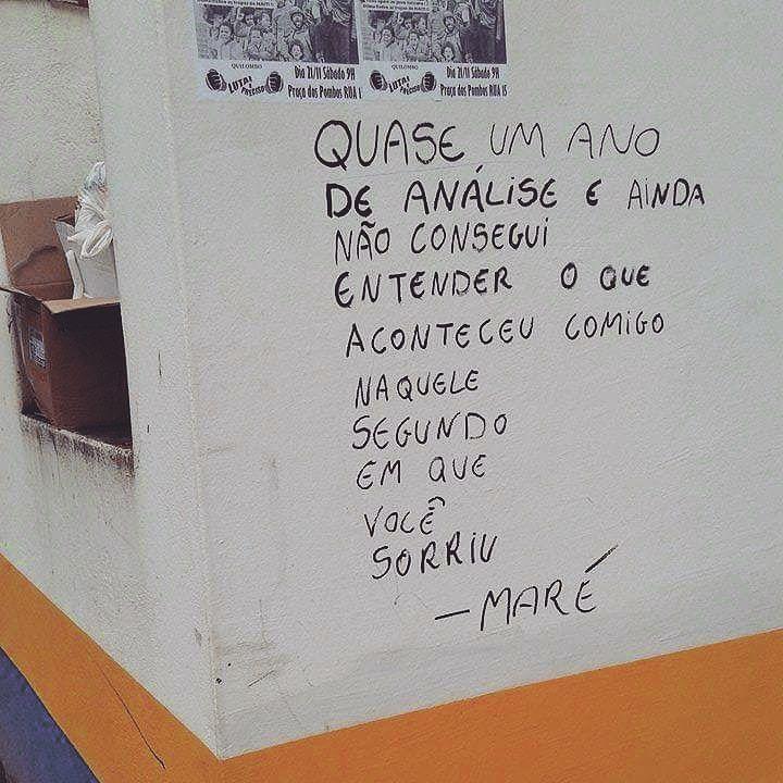 Blumenau, SC. Foto enviada por Rúbia Hass  Frase de @zizica  #olheosmuros #pixo #arteurbana #artederua #blumenau #sc http://ift.tt/1lZqhO6