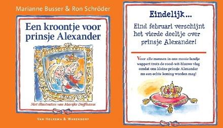 Een kroontje voor prinsje Alexander- Marianne Busser