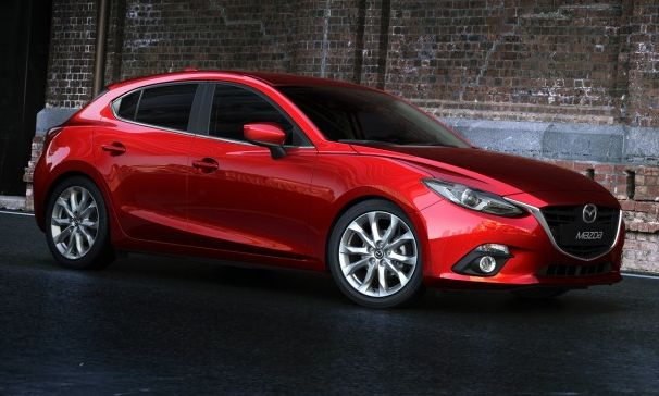 It's the Sexy New Mazda 3!