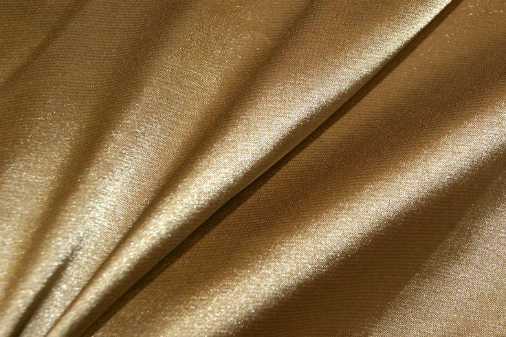 NB 4241-053 Satijn stretch licht goud