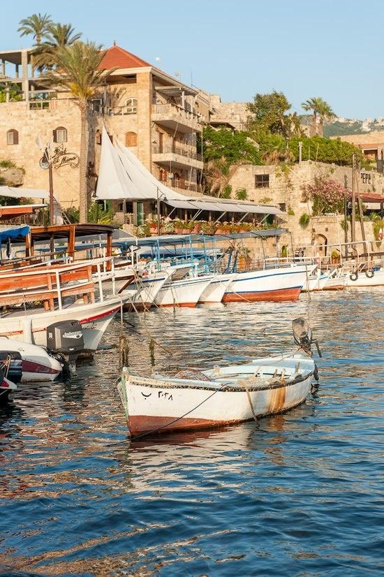 Byblos Port - Lebanon. From Where The Alphabet sailed to the World.
