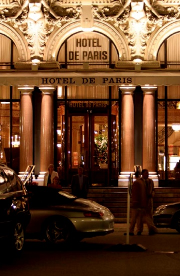 Hotel de Paris entrance #Monaco #HoteldeParis Gorgeous wedding venue ideas | Stories by Joseph Radhik