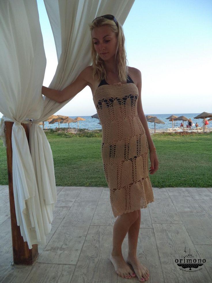 Crocheted dress by O R I M O N O :)