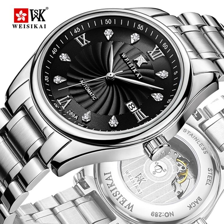 63.70$  Buy now - http://alif3o.shopchina.info/go.php?t=32809183226 - Zegarki Meskie Men Fashion Classic Business Watches Luxury Automatic Mechanical Watches Stainless Steel Waterproof Wristwatch  63.70$ #magazineonlinewebsite