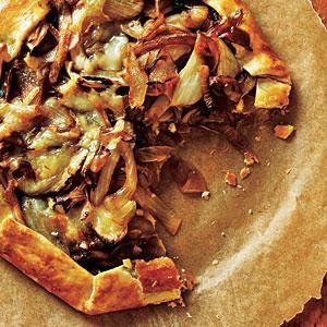 Onion Tart Recipe | MyRecipes.com