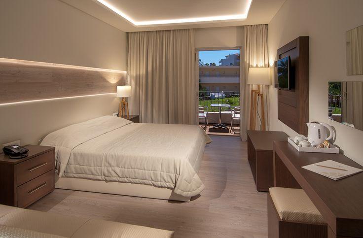 Accommodation at Elounda Breeze - Family Suite - Garden View #accommodation #vitahotels #eloundabreeze #elounda #crete #greece #travel #hotel #holidays