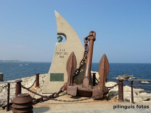 Monumento a la gente del mar L'Escala (Girona)