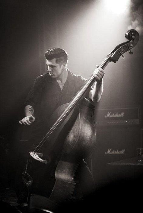 I think i'm in love.... rockabilly men<3