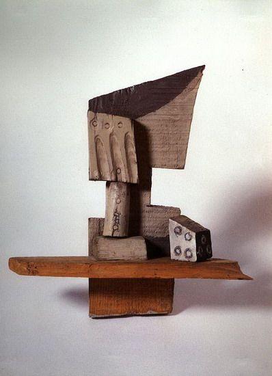 Pablo Picasso. Verre et de. 1914