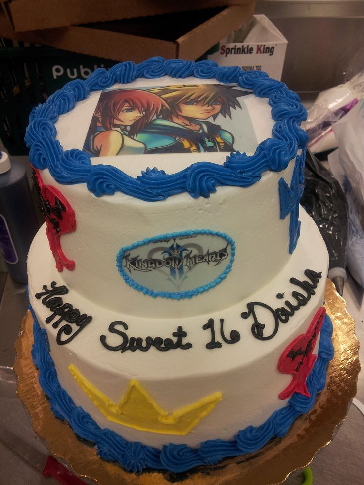 8 Best Kingdom Hearts Themed Party Images On Pinterest