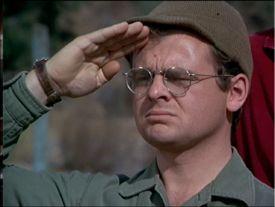 Cpl. Walter 'Radar' O'Reilly. (Gary Burghoff)