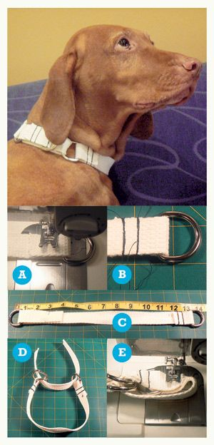 Crafting a Martingale Collar - very detailed tutorial