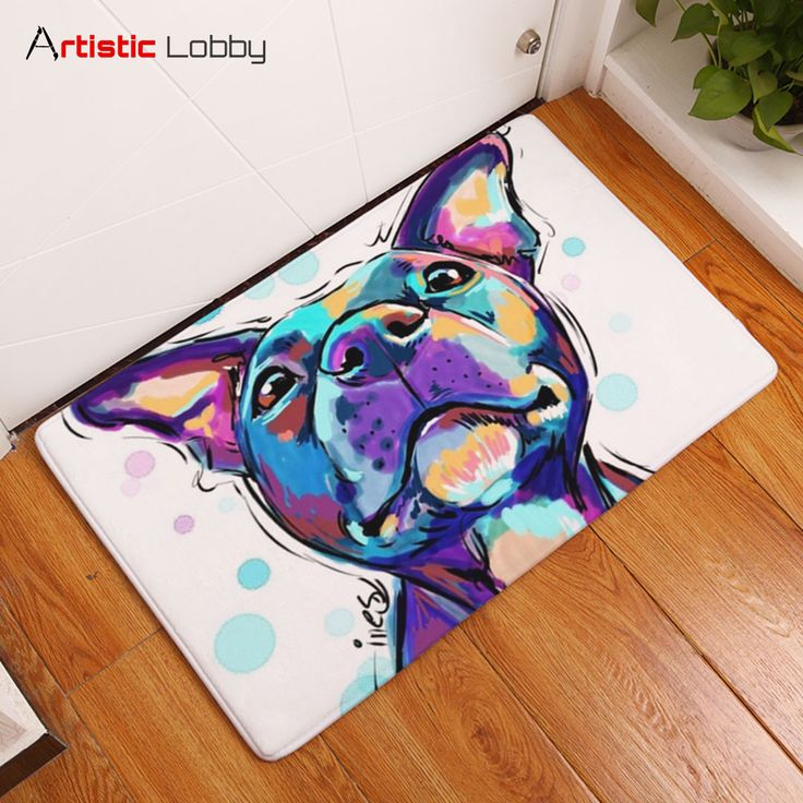 Lovely Painting Dog Anti-slip Floor Mat  📦 Worldwide Shipping 🔥 Follow Artistic Lobby for more ideas!  Start to personalize your home with our modern artistic home decor ideas. Find your bedding sets, floor mats, cushion covers, 3d cushions, wall decor & more! #homedecor #home #homedesign #homedecordesign #homedesignideas #decoration #art #artoftheday #life #lifestyle #lifestyleblogger #dog #dogs #painting