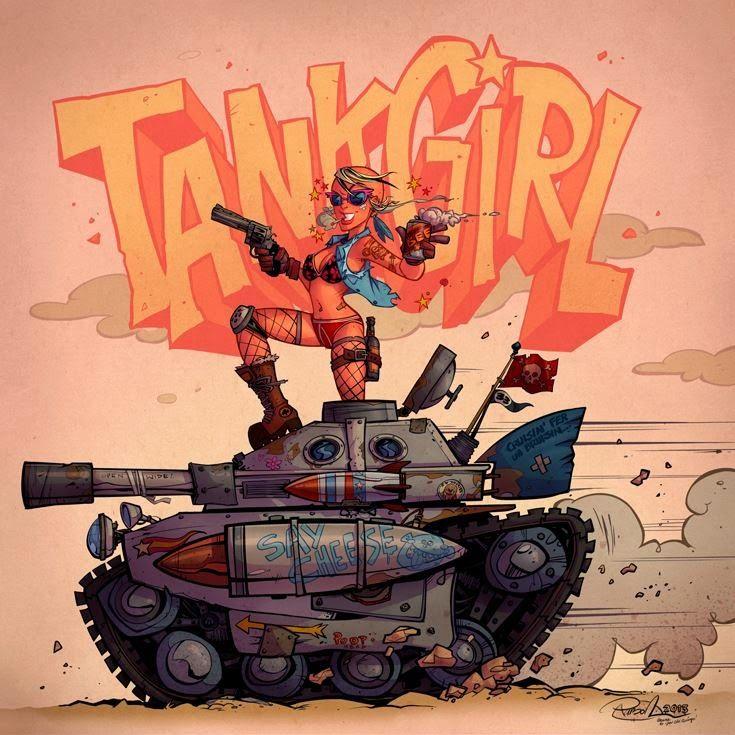 Image result for blitz cadet tank girl