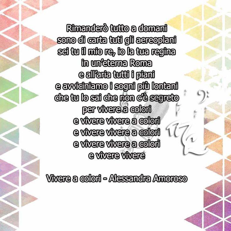 Vivere a colori - Alessandra Amoroso https://www.facebook.com/musicorner/