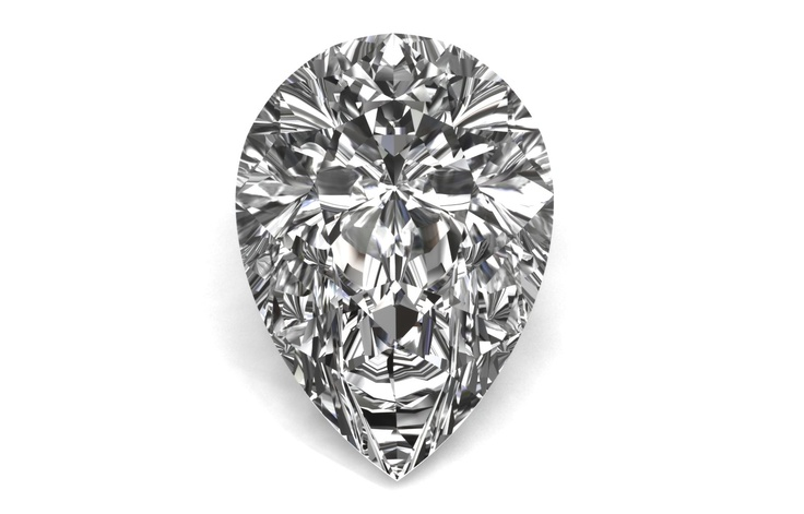 Pear Cut @bensimondiamond #giveadiamond