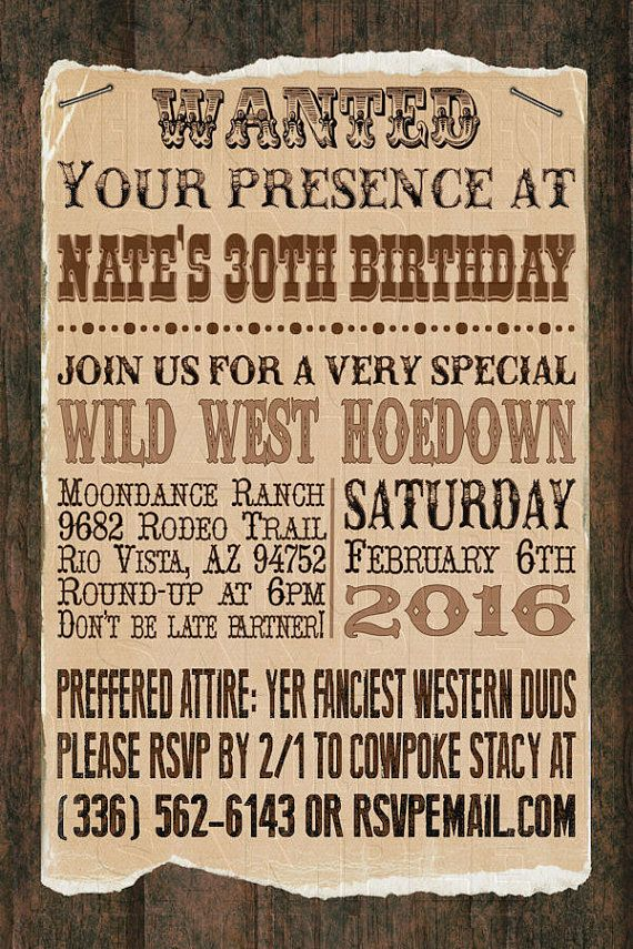 Print Your Own  Wanted Poster Cowboy by PixelDustDigiDesign