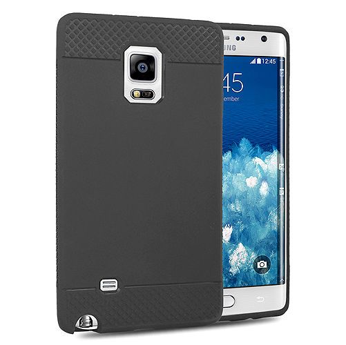Black Soft Jelly Back Case  Cover Crystal  Skin For Samsung Galaxy Note Edge   #UnbrandedGeneric 7.59$ Free Shipping