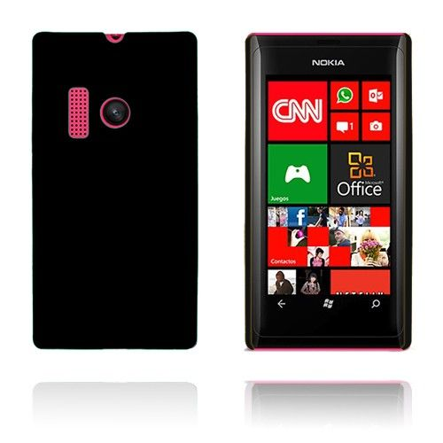 Hard Shell (Sort) Nokia Lumia 505 Cover