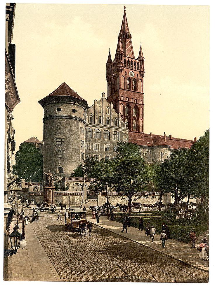 Koenigsberg ca 1890 Schlossturm
