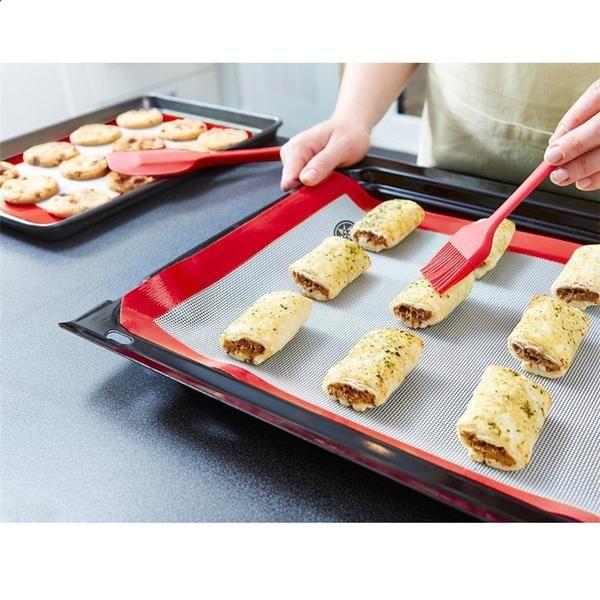 5 Piece Basic Utensil Set Red Kitchen Utensil Set Baking Utensil Set