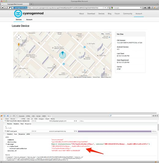 CyanogenMod Offers Secure Device-Tracking With Device Finder -  [Click on Image Or Source on Top to See Full News]
