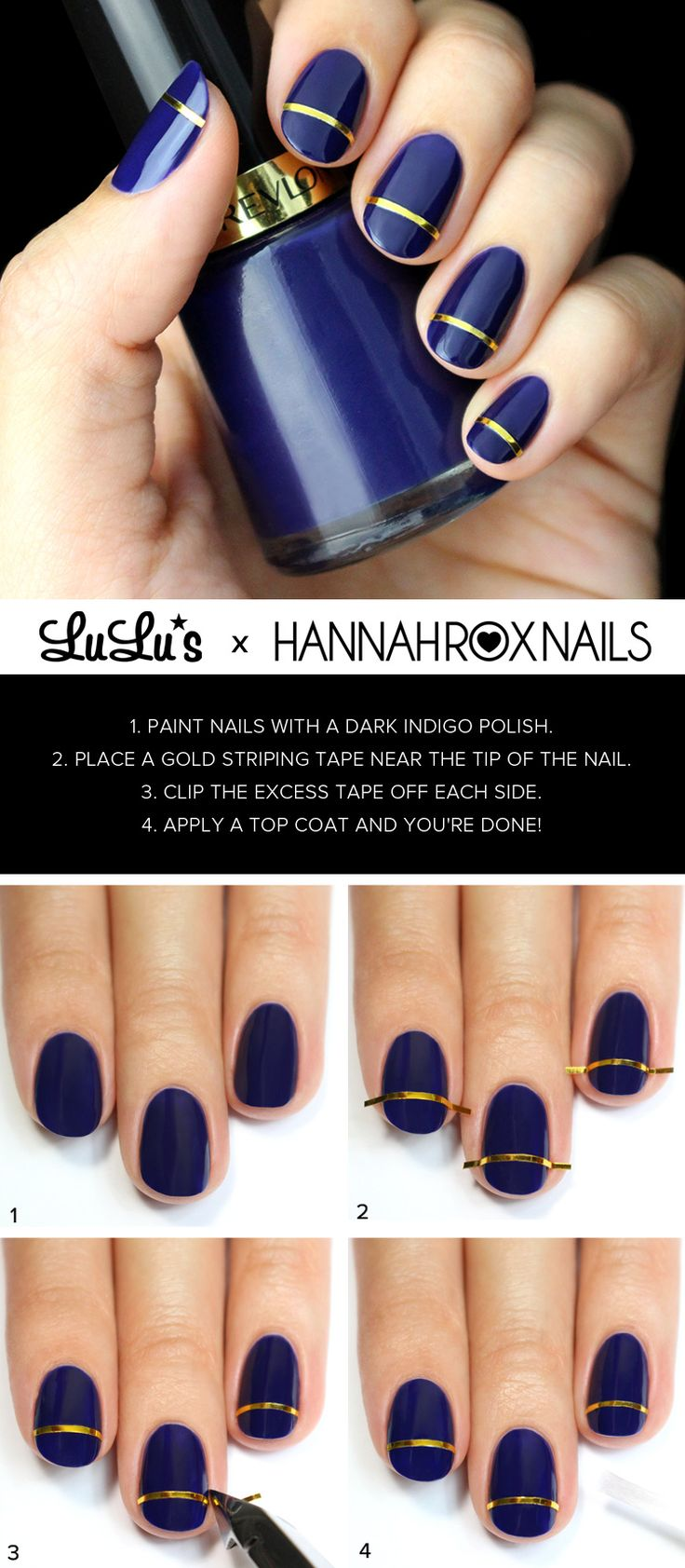 270 best stripes nail art tutorial & videos by nded images on ...