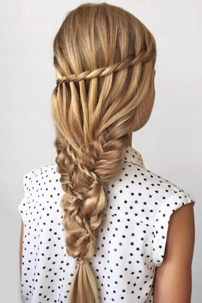 Truly Impressive Rope Braid Hairstyle Lovehairstyles Com Hair Styles Rope Braided Hairstyle Diy Hairstyles